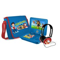 """PAW Patrol 7"""" Portable DVD Player with Carrying Bag and Headphones"""