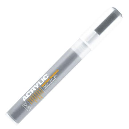 Montana acrylic paint marker fine 2mm outline silver for Craft smart acrylic paint walmart