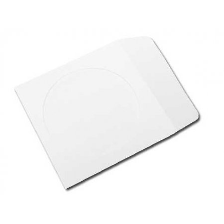 - CheckOutStore 500 Paper CD Sleeves with Window & Flap