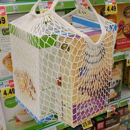 Mesh Net Turtle Bag String Shopping Bag Reusable Fruit Storage Handbag Totes New - Fruit Bag