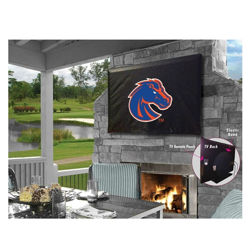 NCAA TV Cover by Holland Bar Stool, 30''-36'' - Boise State