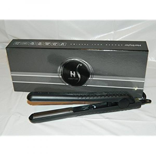 HerStyler SuperStyler Onyx Ceramic Flat Iron - 1.25 Ceramic Plates Negative Ion Technology - Best  sc 1 st  Walmart & HerStyler SuperStyler Onyx Ceramic Flat Iron - 1.25 Ceramic Plates ...