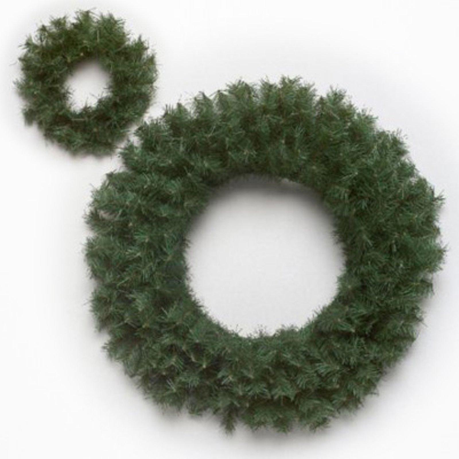 "Vickerman 60"" Canadian Pine Wreath 1200 Tips"