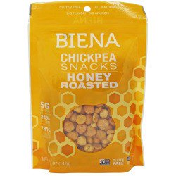 Chic Pea - Biena Chickpea Snacks, Honey Roasted, 5 Oz