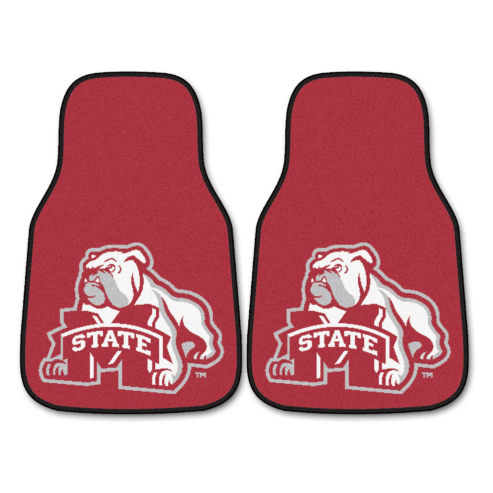 Fanmats Collegiate 18 x 27 in. Carpeted Car Mat