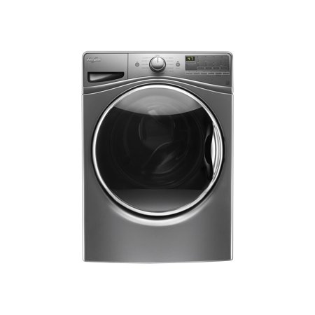 Whirlpool WFW85HEFC - Washing machine - freestanding - height: 39 in - front loading - 4.5 cu. ft - 1200 rpm - chrome shadow