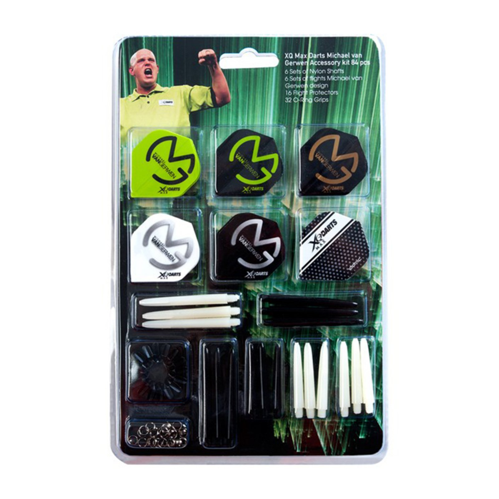 XQ Max Darts Michael Van Gerwen MvG 84 Piece Dart Accessory Kit