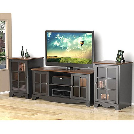 Nexera Pinnacle HEC Entertainment Center for TVs up to 54;, Cinnamon/Cherry