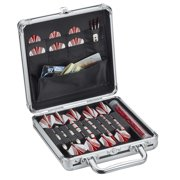 Casemaster Ternion Aluminum Dart Carrying Case (Holds 9 Darts and Accessories)