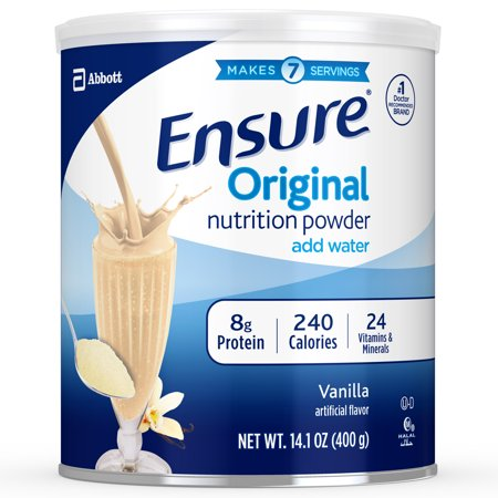 Ensure Original Nutrition Powder Vanilla for Meal Replacement 14.1 oz