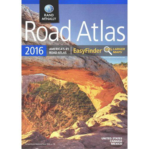 Rand McNally 2016 Road Atlas EasyFinder