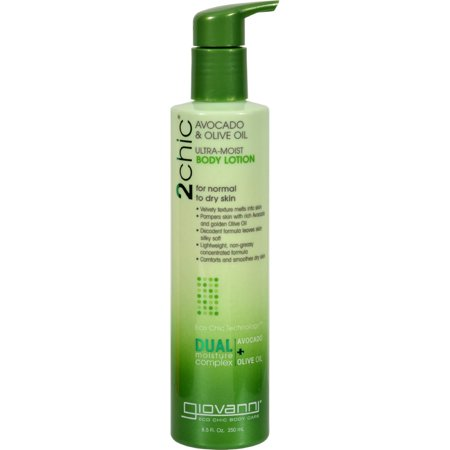 Giovanni Lotion (Giovanni Hair Care Products 2chic Body Lotion - Ultra-Moist Avocado and Olive - 8.5 fl oz)