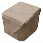 KoverRoos 38102 KoverRoos III Adirondack Footrest Cover, Taupe - 21.5 W x 23.5 D x 14 H in.