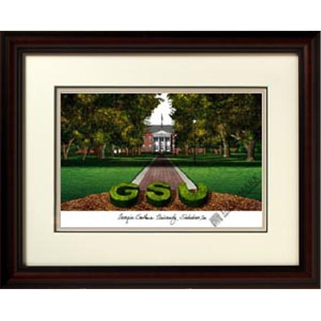 Campus Images GA975R Georgia Southern University Framed Lithograph Print