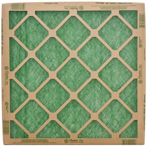 "flanders (4 filters), 10"" x 20"" x 1"" precisionaire fiberglass ..."