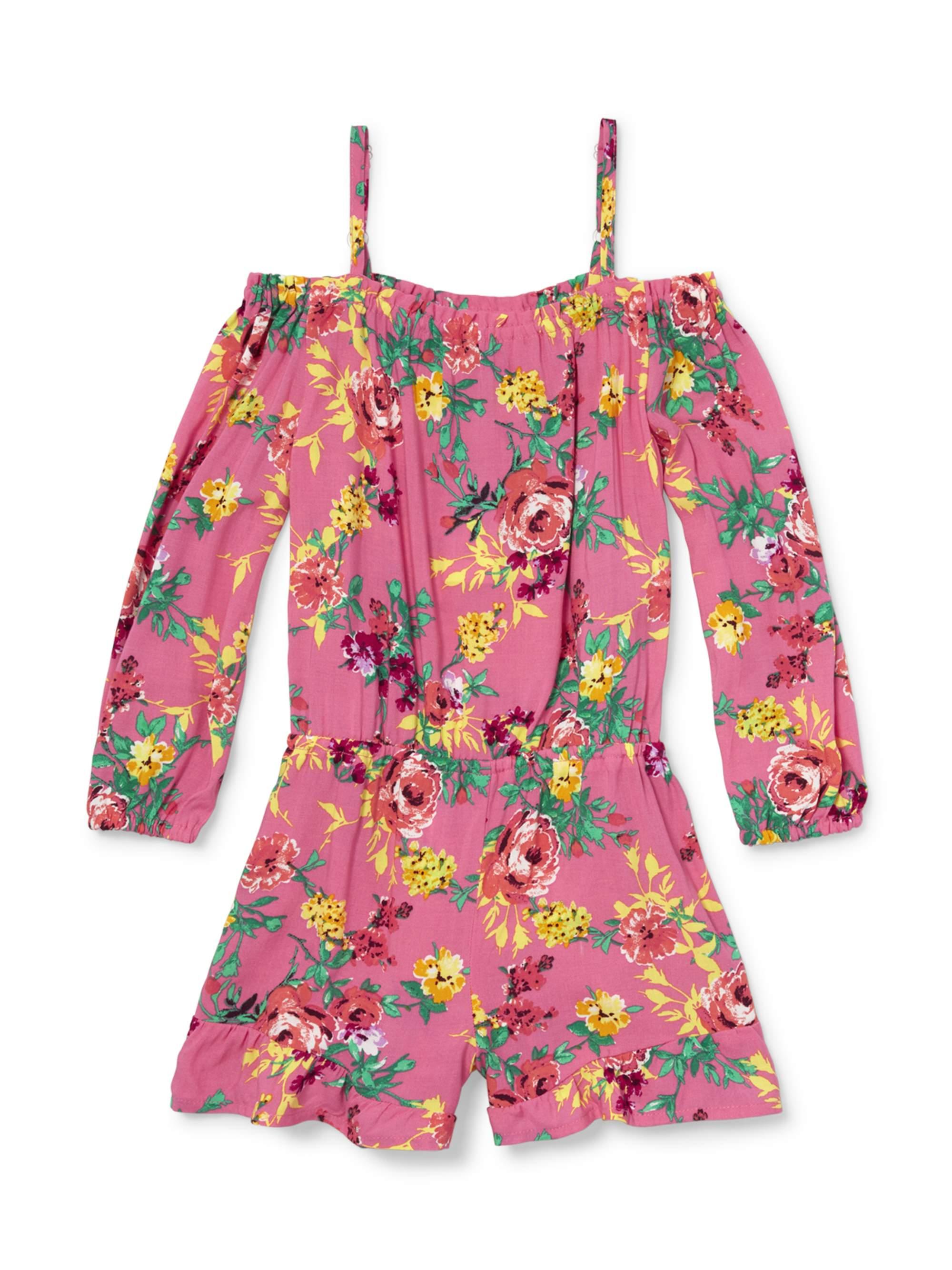 Floral Cold Shoulder Romper (Little Girls & Big Girls)