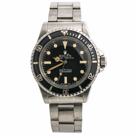 Pre-Owned Rolex Submariner 5513 Steel Watch (Certified Authentic & Warranty)