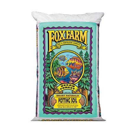 FoxFarm FX14000 Ocean Forest Plant Garden Potting Soil Mix 6.3-6.8 pH, 40 (Premium Potting Soil)