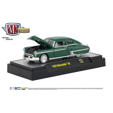 M2 Machines Auto Thentics 1:64 1950 Oldsmobile 88 R53