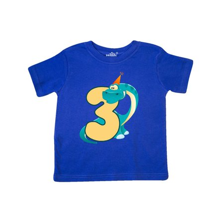 Dinosaur 3rd Birthday Toddler T Shirt