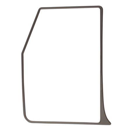 81802GLH - Fit System 81802Glh - Fit System Driver Side Replacement Mirror Glass with backing plate Only For Snap & Zap 81800 And 81810 Flat Lens (Snap Lock Replacement Lens)
