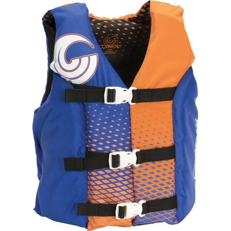 CWB Connelly Coast Guard Approved Nylon Youth Life Jacket PFD Vest, -