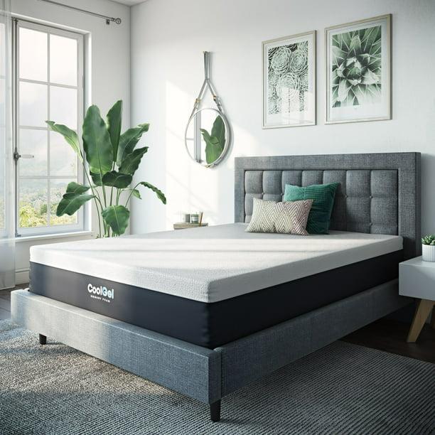 Modern Sleep 12 Inch Cool Gel Memory Foam Mattress Queen