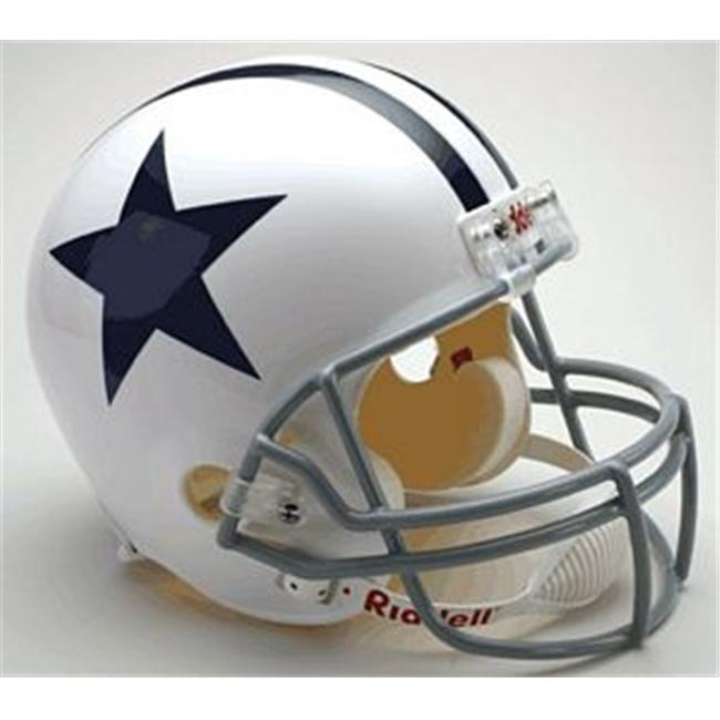 Creative Sports RD-COWBOYSTB-R60-63 Dallas Cowboys 1960-1963 Throwback Riddell Full Size Deluxe Replica Football Helmet