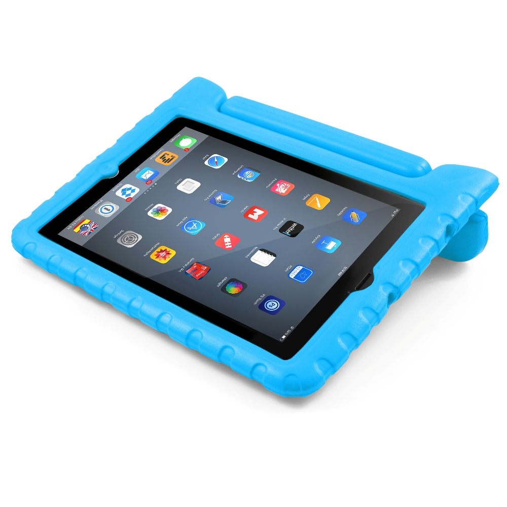 BUDDIBOX iPad mini Case [EVA] Shockproof Kids Safe Carrying Case for iPad Mini 2 / 3 / 4 & Retina (Green)