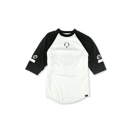 ROOK Mens The Trail Blazer Baseball Graphic T-Shirt blkwht L - image 1 of 1