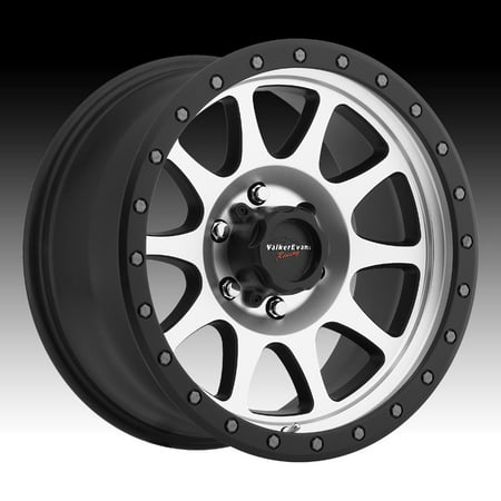 Walker Evans Racing 504MB Legacy Machined Black 18x9 5x150 18mm (504-8950MB+18)