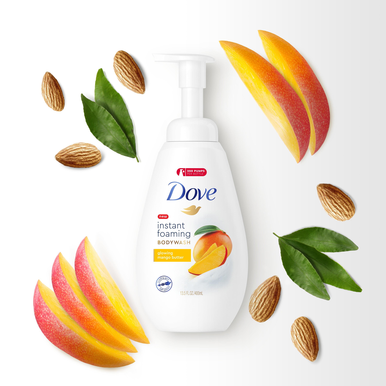 Dove Foaming Body Wash Mango Butter 13 5 Oz Walmart Com Walmart Com