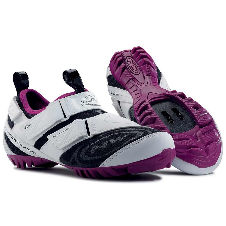Northwave, Multi-App Woman, Touring shoes, Women's, White/Violet, 37