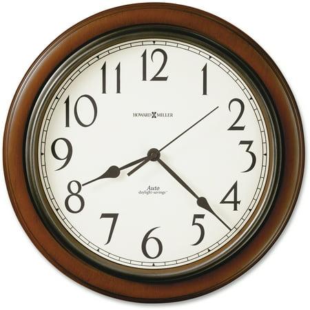 Howard Miller, MIL625417, Talon Wall Clock, 1 (Howard Miller Tempus Fugit Grandfather Clock Value)