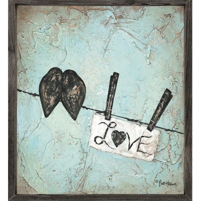 Forest Creations AP69 Art Print - Love