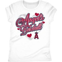 Los Angeles Angels Girls Short Sleeve Graphic Tee