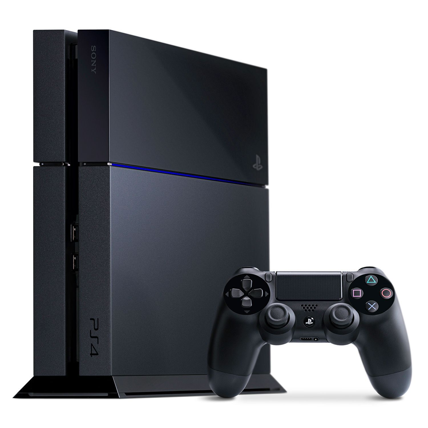 Sony PlayStation 4 Console, Certified , Black
