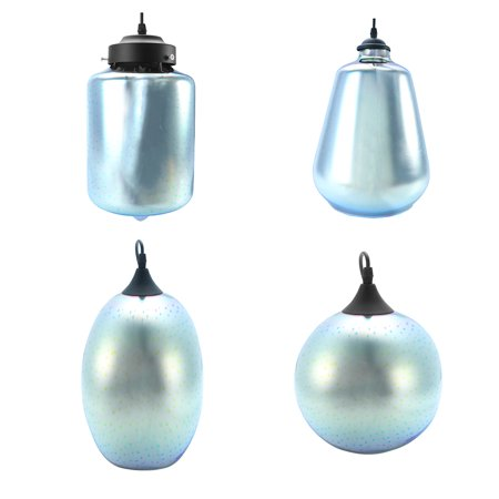 Modern Creativity 3D Art Glass Chandeliers Pendant Lamp Ceiling Light for Living Room Dining Room Kitchen Bedroom Exhibition Hall Bar Cafe ()