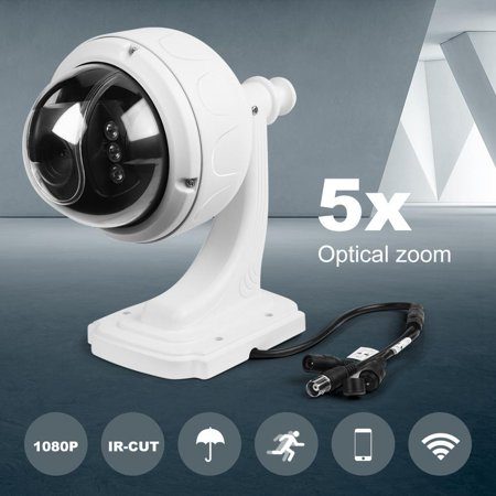 Night Vision WIFI Camera 1080P Wireless 5XZOOM Outdoor PTZ Speed Dome Security Camera WIFI IP Night Vision IR Cam