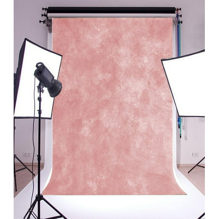 GreenDecor Polyster 5x7ft Backdrop Photography Background shabby old vintage Soft Light Pink Theme Solid Color Backdorp Persoanl Portraits, Photo Studio Props ()