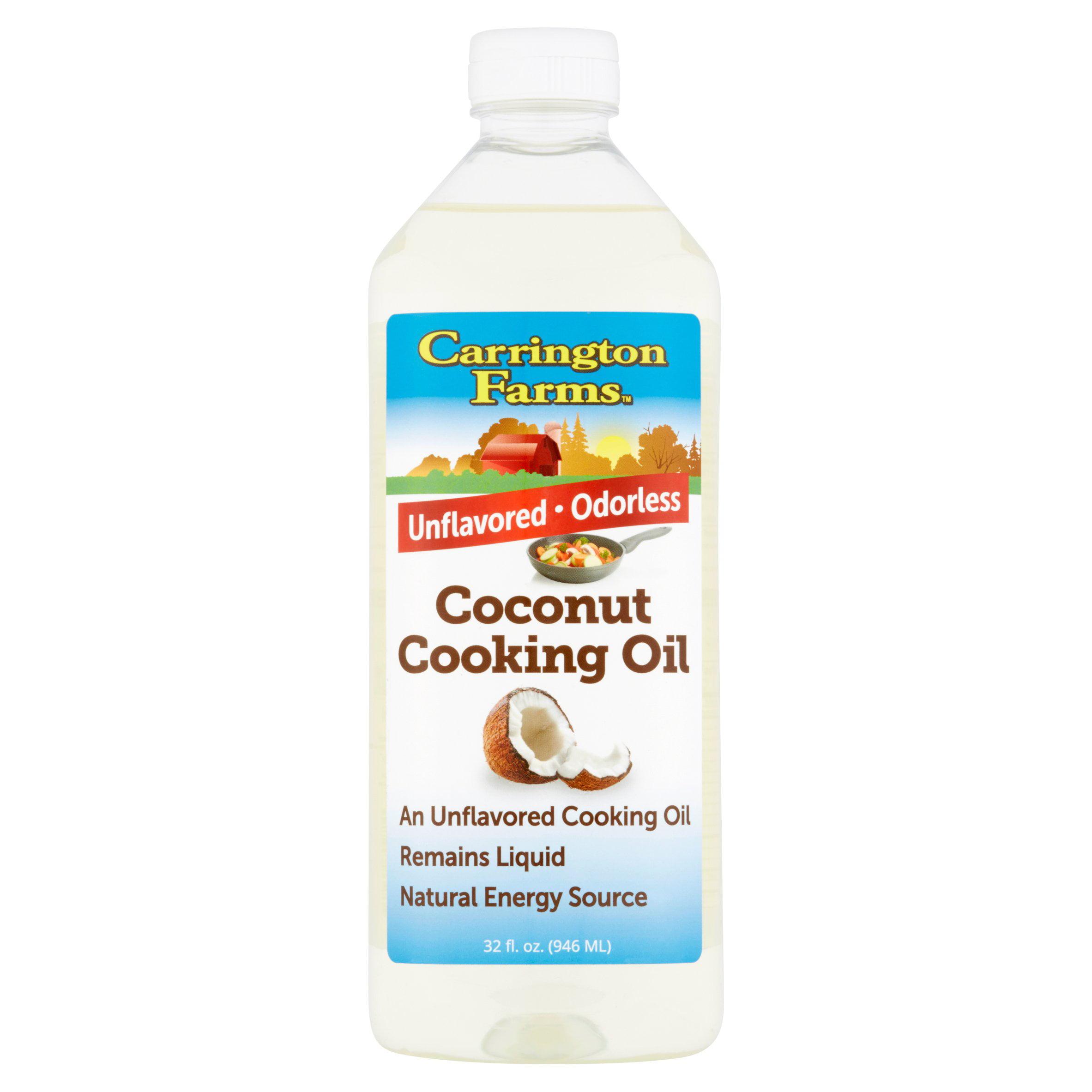 Carrington Farms Coconut Cooking Oil 32fl.oz by Carrington Farms