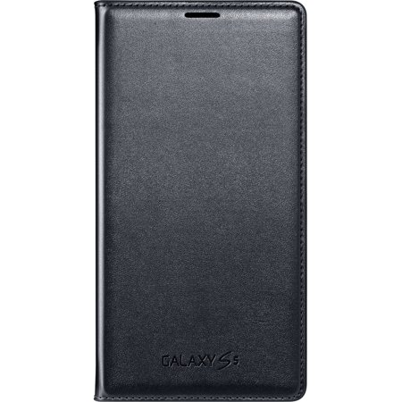 save off 68c5b c3268 Samsung Galaxy S5 Case Flip Cover Wallet Folio, Black