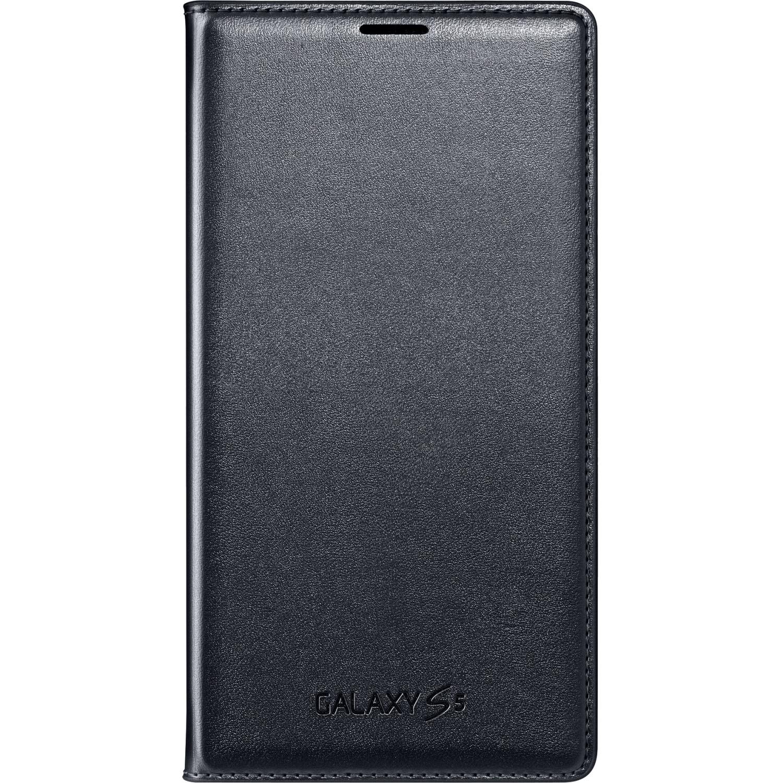 Samsung Galaxy S5 Case Flip Cover Wallet Folio, White