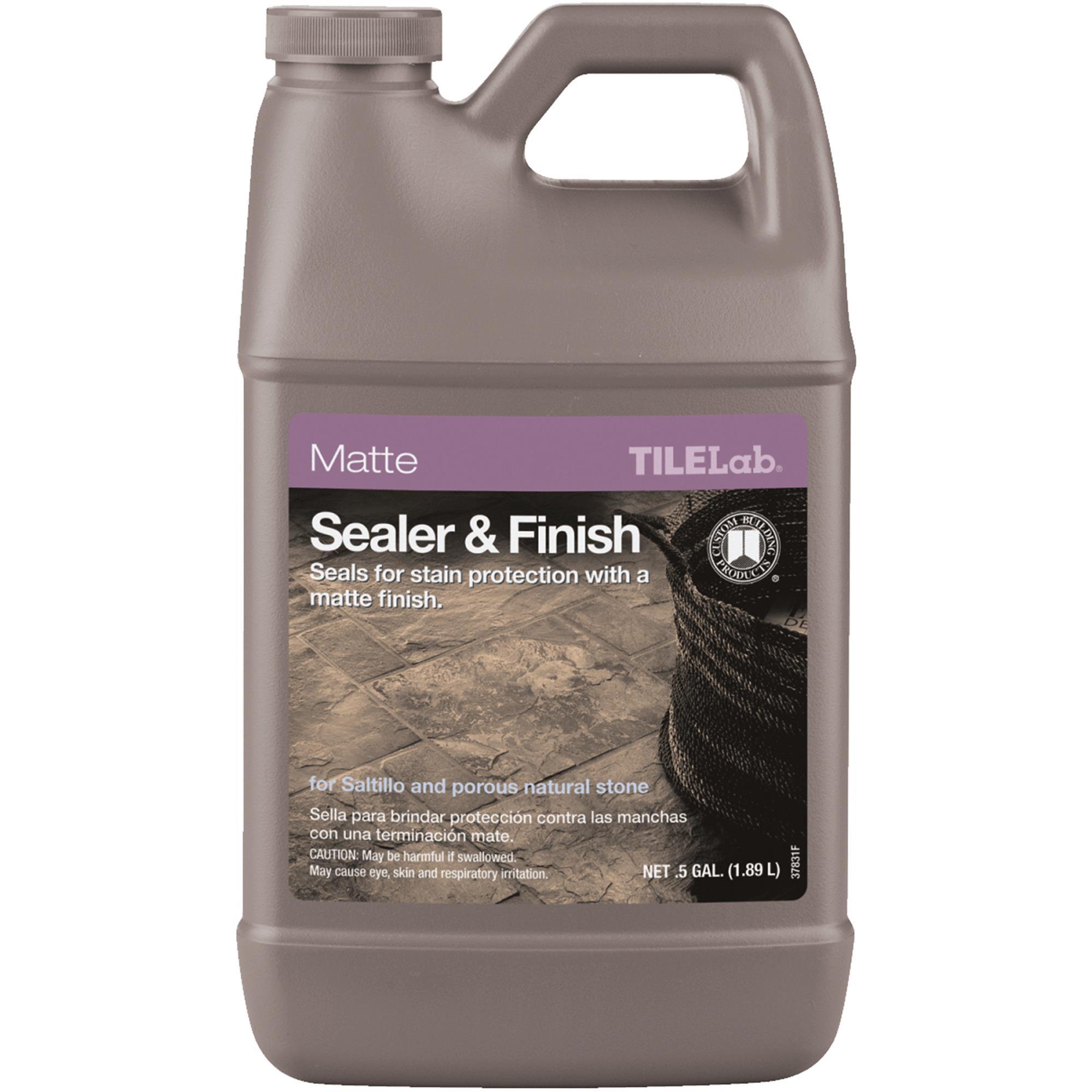 Custom Building Products TILELab Matte Tile Sealer & Finish