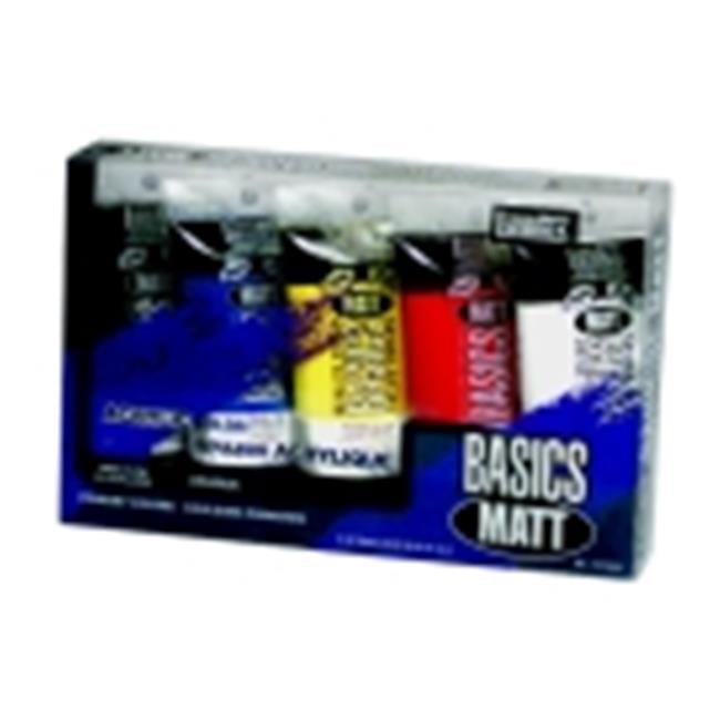 Liquitex Basics Non-Toxic Acrylic Paint Set - 2. 54 Oz.  Tube, Set 5