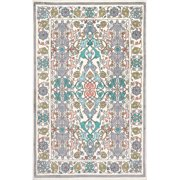 nuLOOM Machine-Made Floral Janise Area Rug or Runner