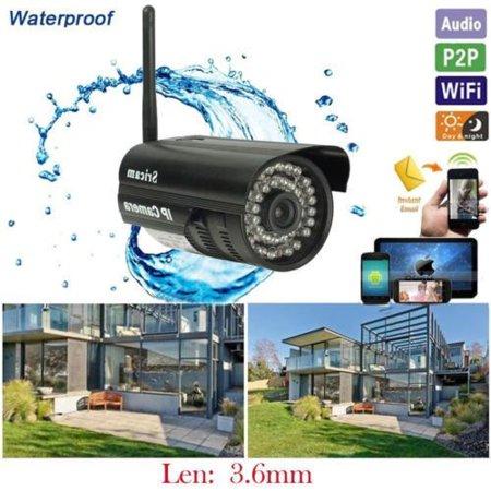 Sricam Outdoor Wireless Wifi Security Webcam IR IP P2P Camera