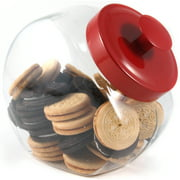 1-Gallon Candy Jar, Red