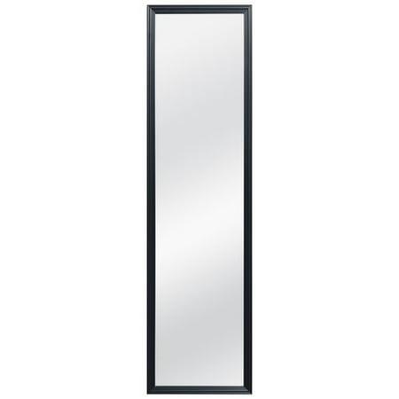 Mainstays Full Length Beveled Mirror 48 Quot X 12 Quot Walmart