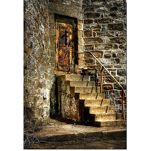"Trademark Fine Art ""The Locked Door"" Canvas Wall Art by Lois Bryan"